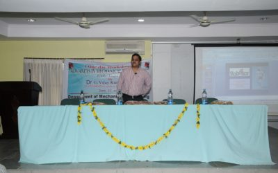 One Day Workshop on Adavances in Mechanical Engineering