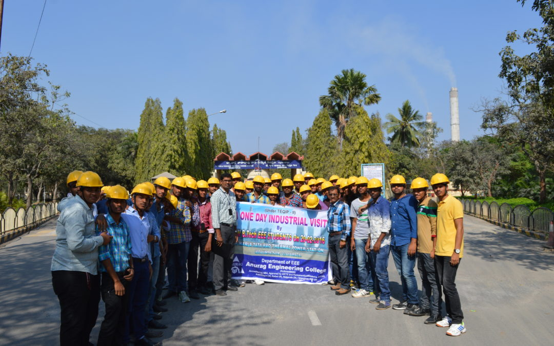 One Day Industrial visit to Dr. NTTPS